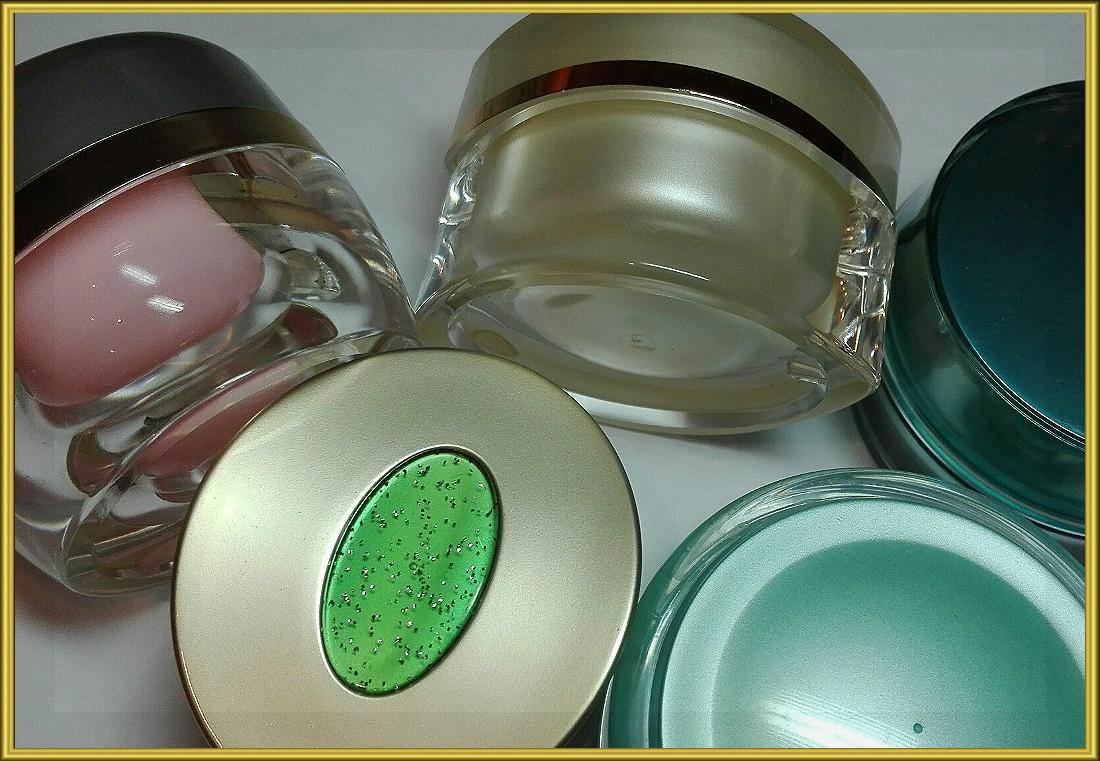Емкости и баночки для натуральной косметики изготовленной дома
