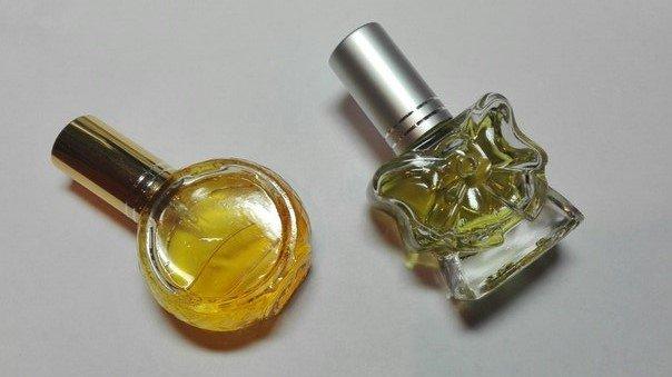 Духи с редкими эфирными маслами