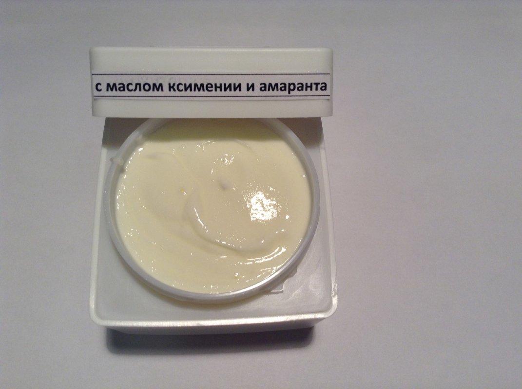 Крем с маслом ксимении и амаранта для лица и век