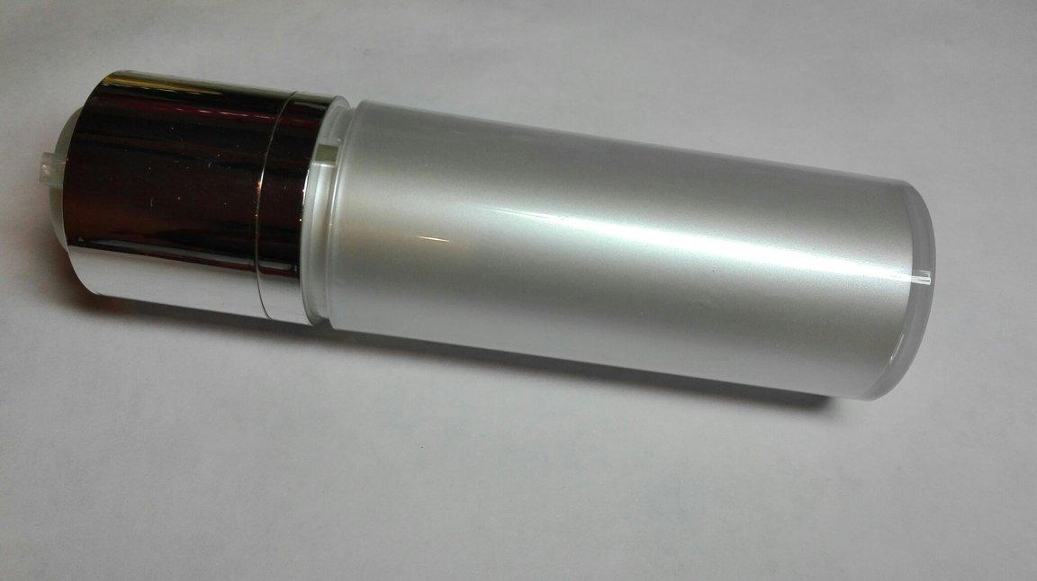 Диспенсер вакуумный серебристый