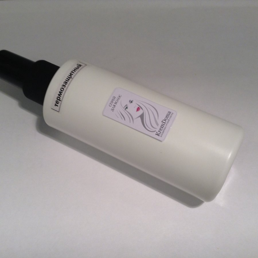 Термозащитный спрей для волос (несмываемый)
