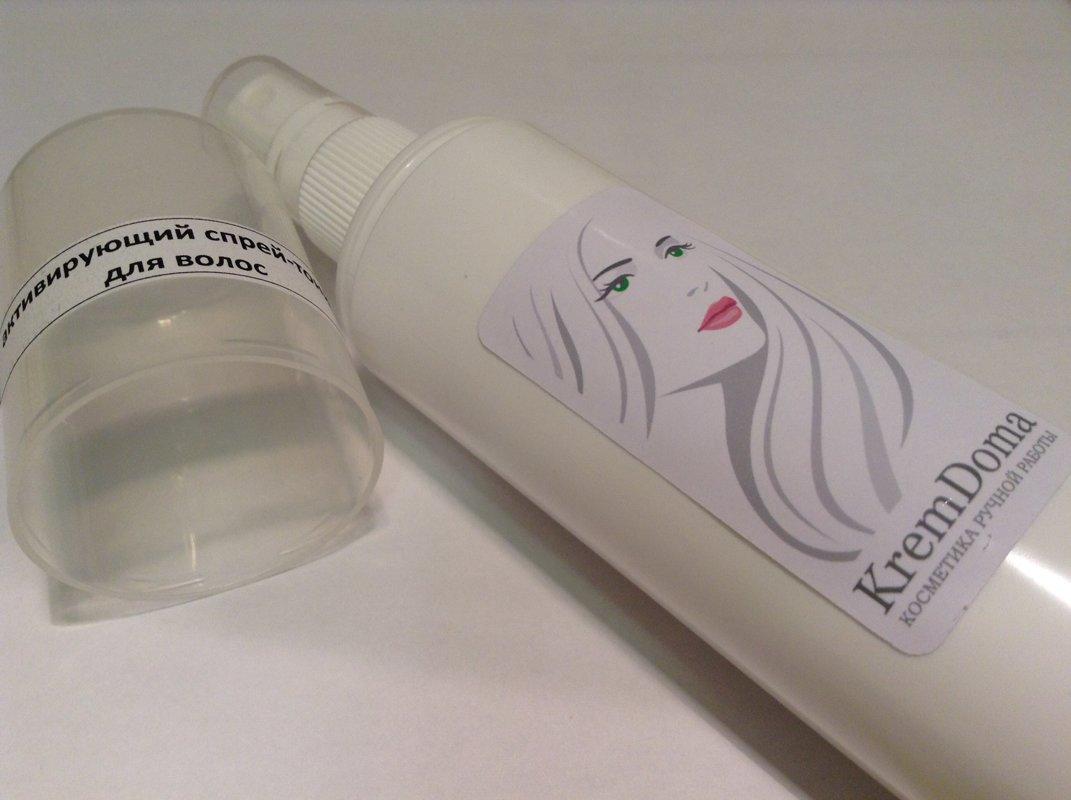 Активирующий спрей-тоник для волос