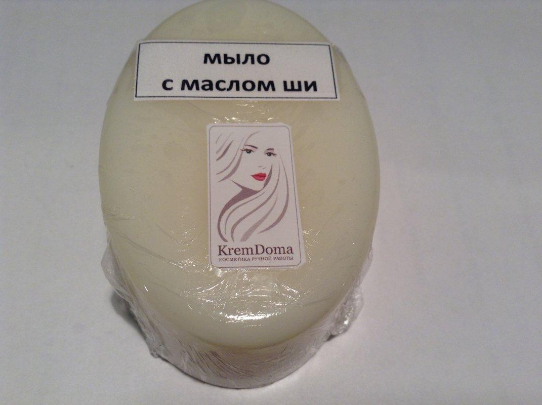Мыло с маслом ши