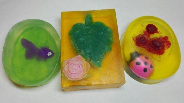 Детское мыло с игрушкой