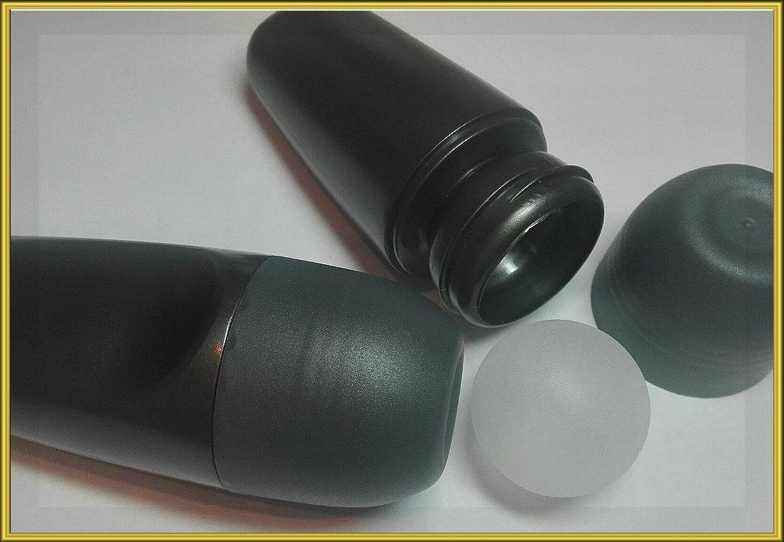 Туба для дезодоранта черная