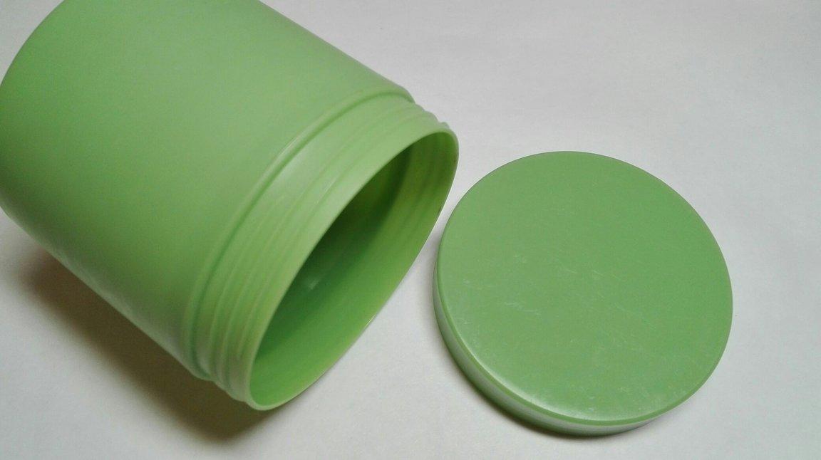 Баночка глубокая зеленая