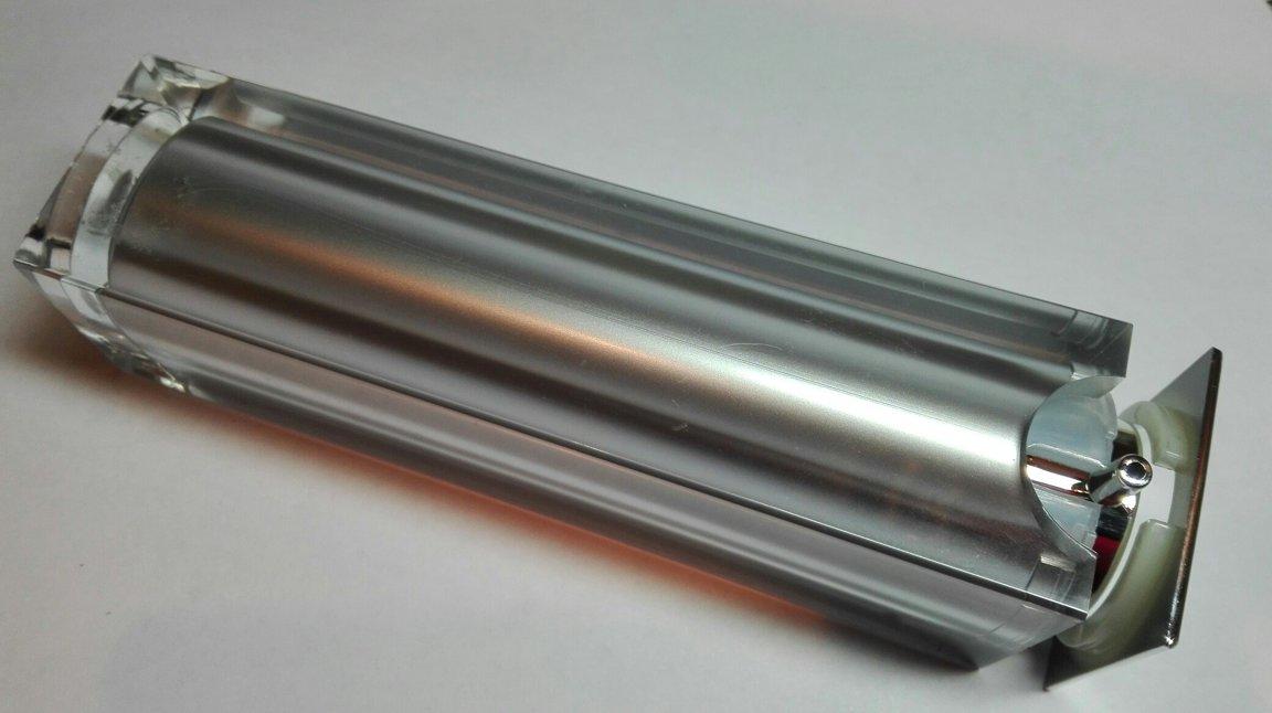 Вакуумный диспенсер серебро