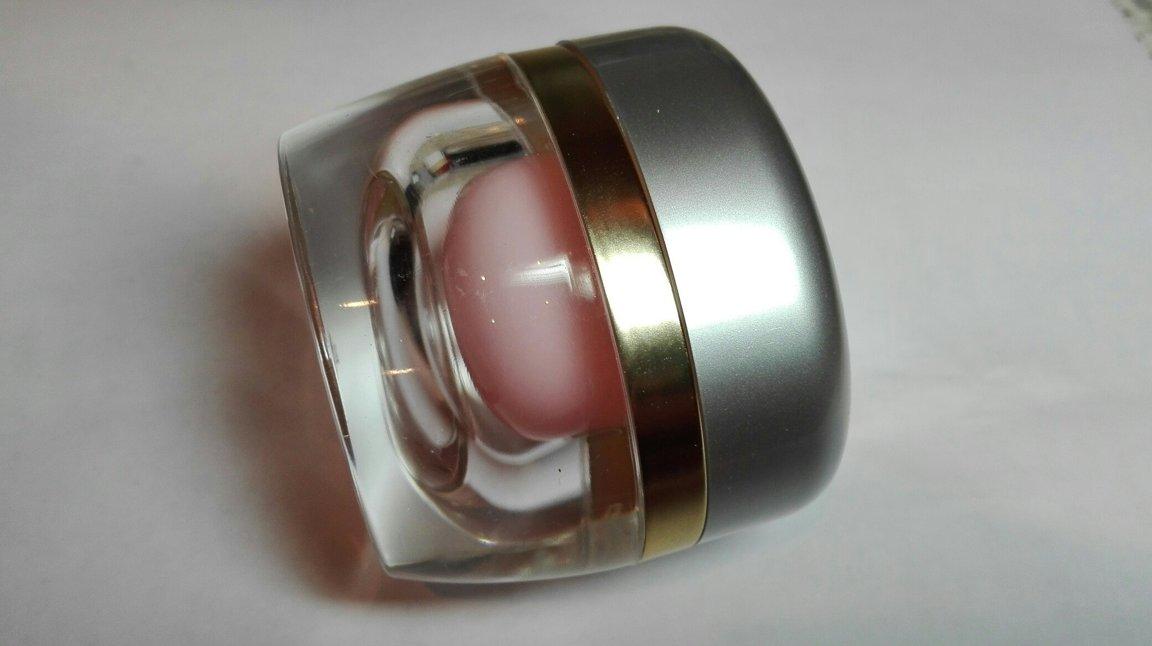 Баночка розовая внутри