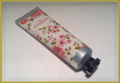 ТУба металлик с цветами