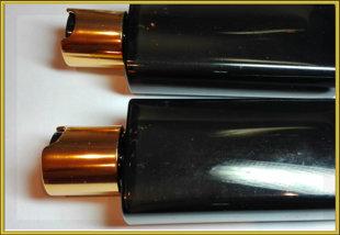 Флакон коричневый флип топ