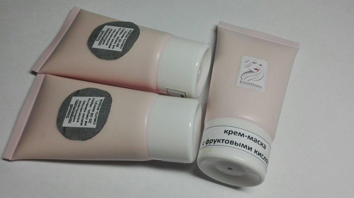 Крем-маска с фруктовыми кислотами